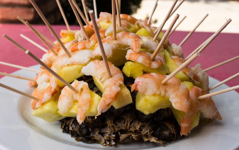 Recetas de brochetas de pescado buenmercadoacasa - Brocheta de langostinos y bacon ...