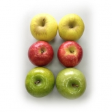 Manzanas Tricolor Combi (6 Ud/1,5 Kg)